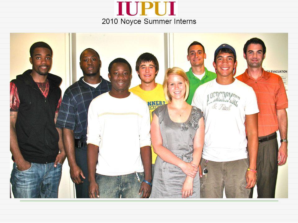2010 Noyce Summer Interns
