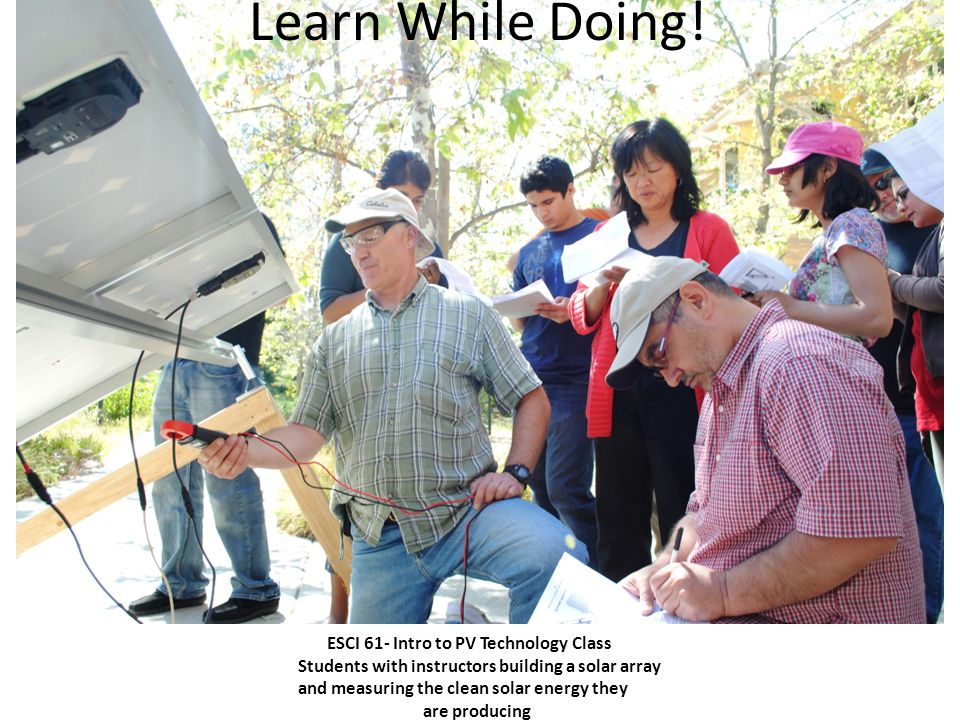 Learn in the Kirsch Solar Education Lab