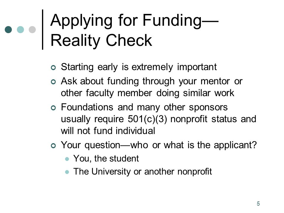 26 InfoEd SPIN Funding Opportunities Database Similar to COS Main differences Additional opportunities not in COS Different keywords and search terms (summer, travel abroad, travel domestic, internships, outreach) Different interface (keywords alphabetized) Be certain to use Search and not press Enter Save your search to receive alerts http://grantsource.unc.edu/funding_databases.php#spin