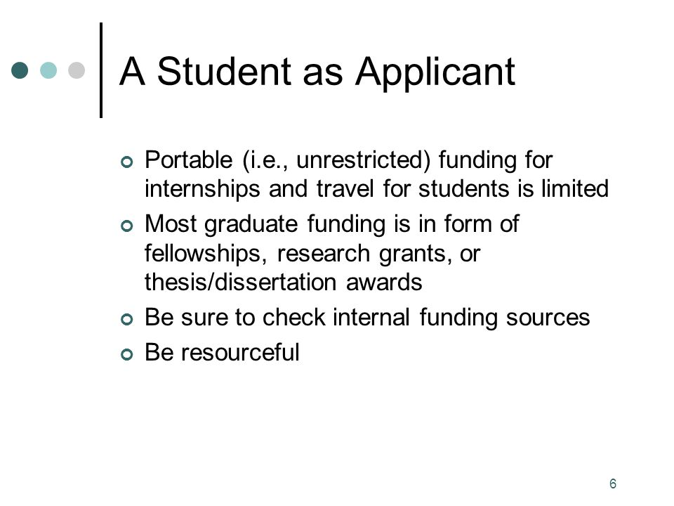 17 Conducting a Funding Search