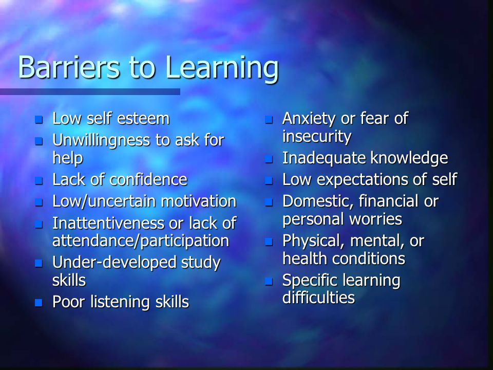 Learning is enhanced when learners are asked to … n State the information in their own words n Give examples of it n Recognize it in various guises and circumstances n See connections between it and other facts or ideas n Foresee some of its consequence n State its opposite or converse