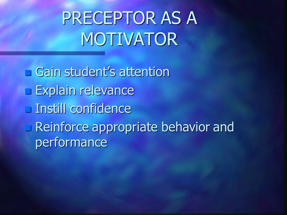 MOTIVATION n To provide with an incentive; move to action