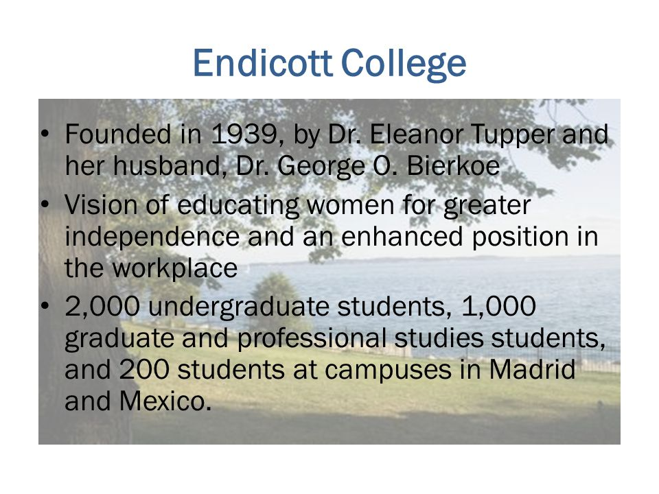 Introduction 9 years at Endicott – 1 in Career Center, 8 years as Internship Coordinator Variety of majors: Criminal Justice, Psychology, International Studies, Hospitality, Liberal Studies.