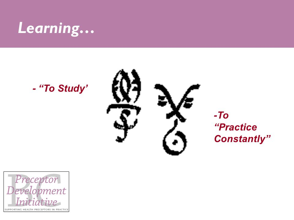 - To Study' -To Practice Constantly Learning…
