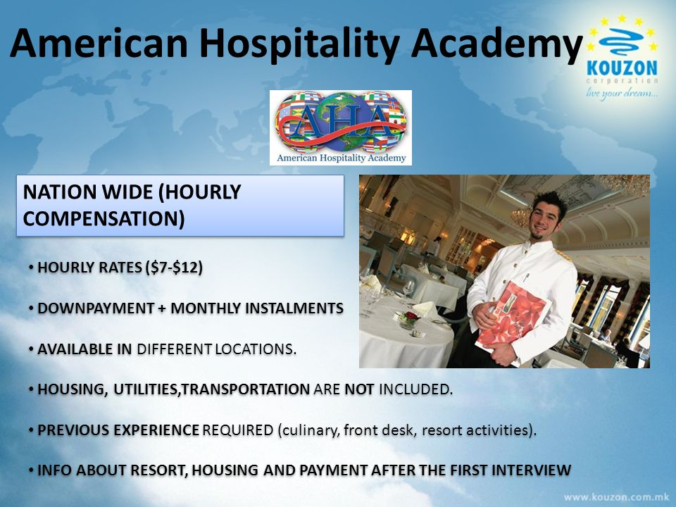 HOURLY RATES ($7-$12) DOWNPAYMENT + MONTHLY INSTALMENTS AVAILABLE IN DIFFERENT LOCATIONS. HOUSING, UTILITIES,TRANSPORTATION ARE NOT INCLUDED. PREVIOUS