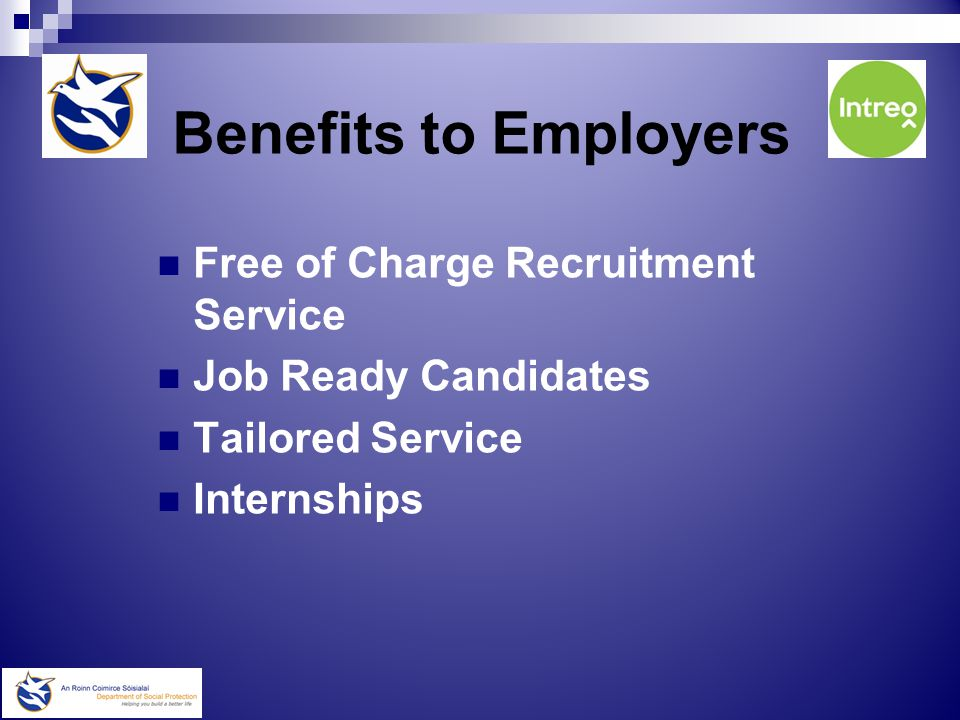 Employer Information Pack DSP Recruitment & Employment Schemes Grants & Assistance Schemes Disability Support Schemes