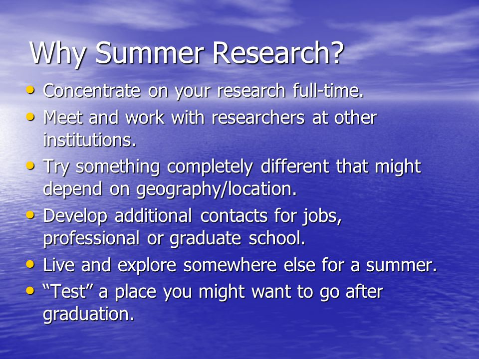 International Summer Internships You do not always have to speak the local language.