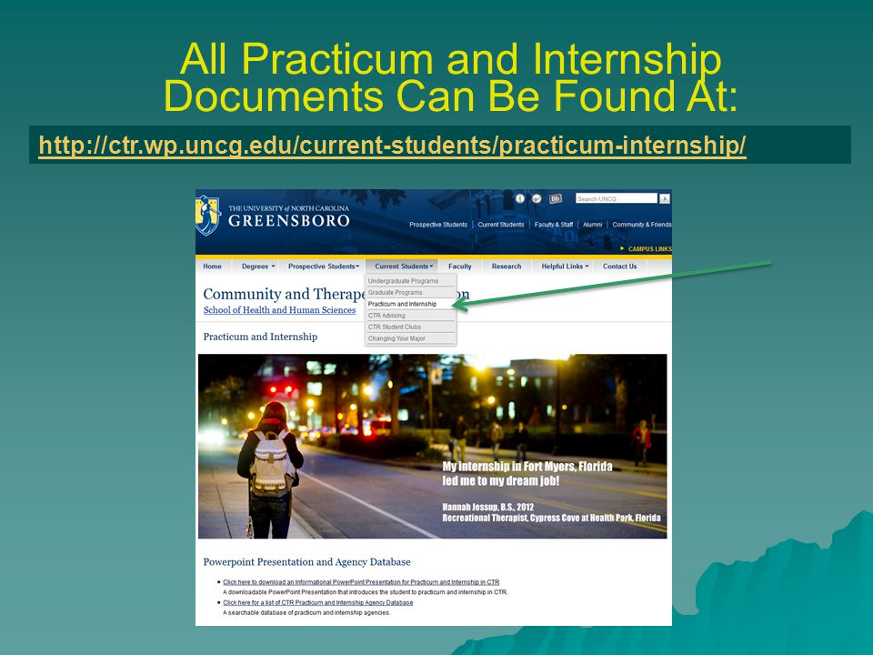 Practicum and Internship Forms Required Before Beginning Hours This form must be submitted along with a check for the amount shown on the form.