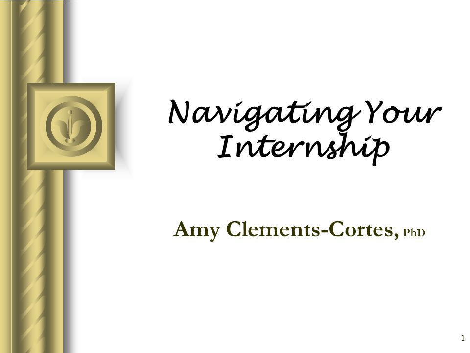 2 How Do I Find A Place to Intern.