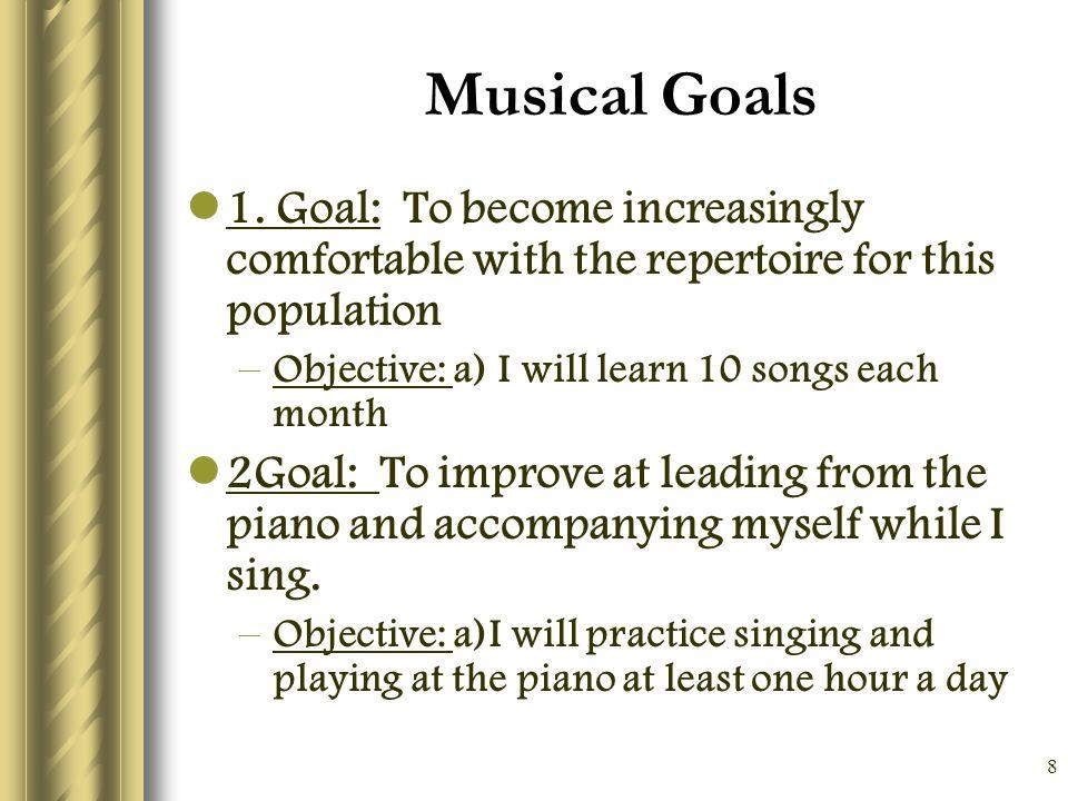 9 Clinical Goals 1.