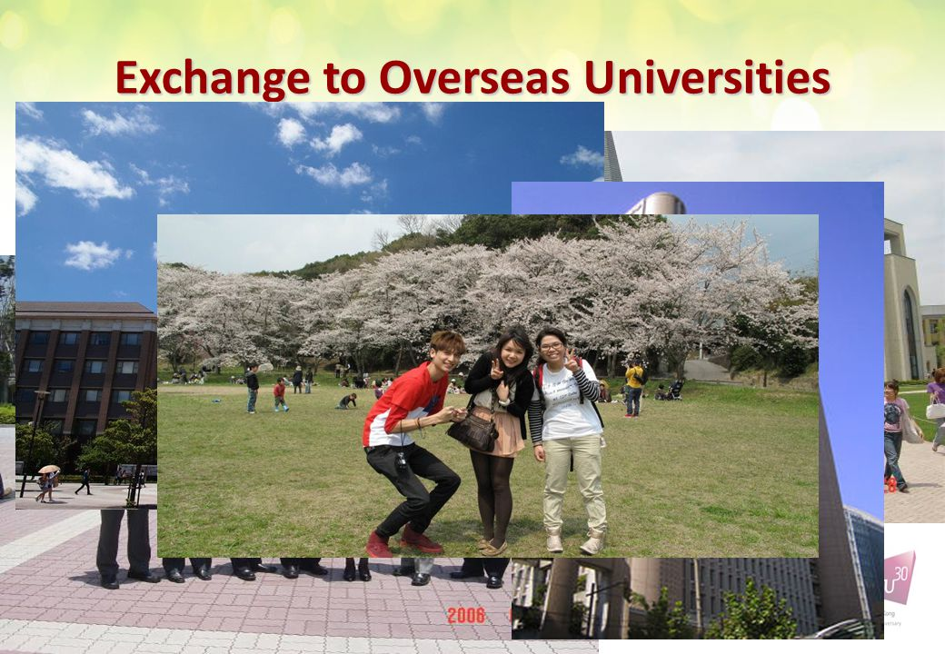 Exchange to Overseas Universities