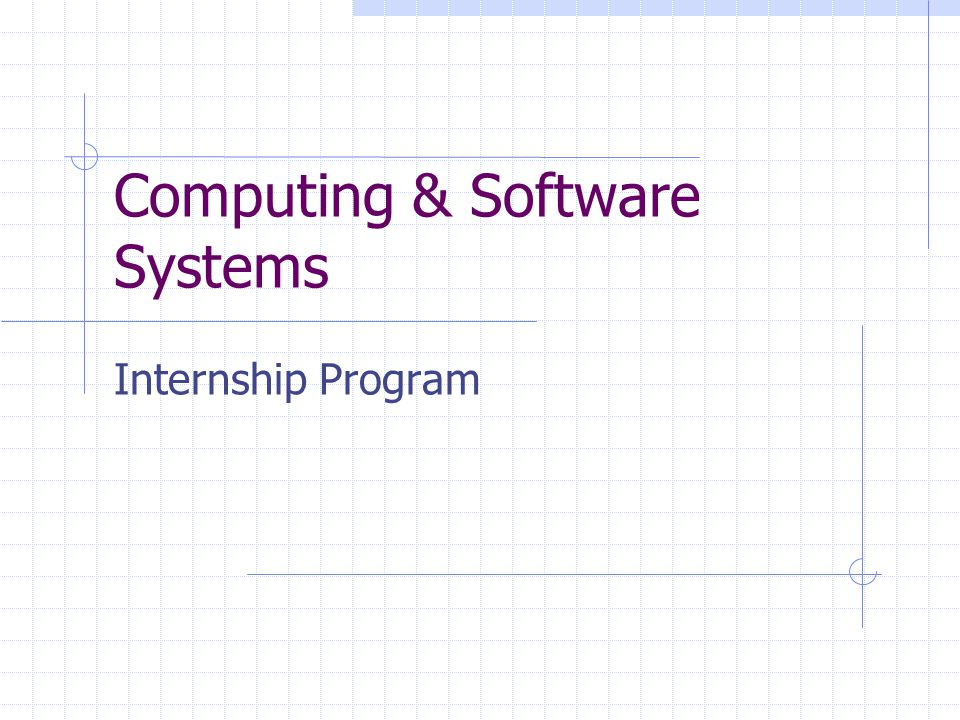 Option 6: Individual Project ‑ Student ‑ Defined A student may identify a computing project that she or he feels meets a need of industry and/or the community.