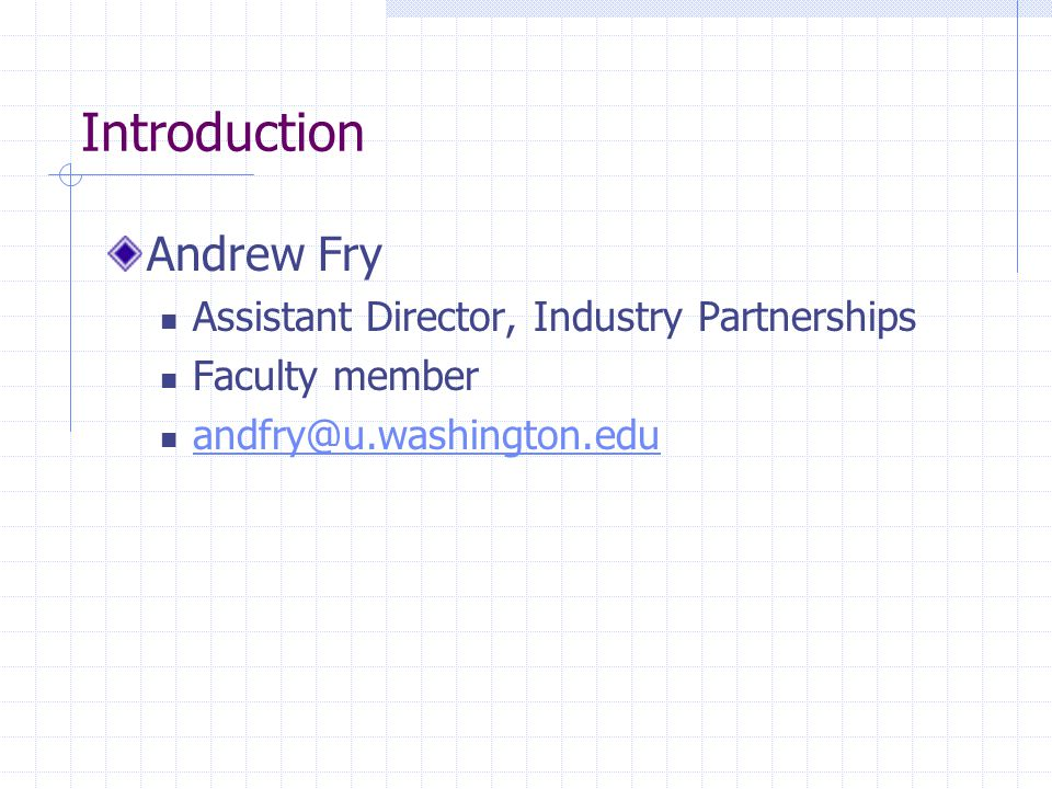 Program Description The University of Washington, Tacoma Computing & Software Systems (CSS) Internship Program develops and promotes opportunities for CSS students to receive academic credit for degree-related, paid work experience for students who have completed the CSS core course requirements.