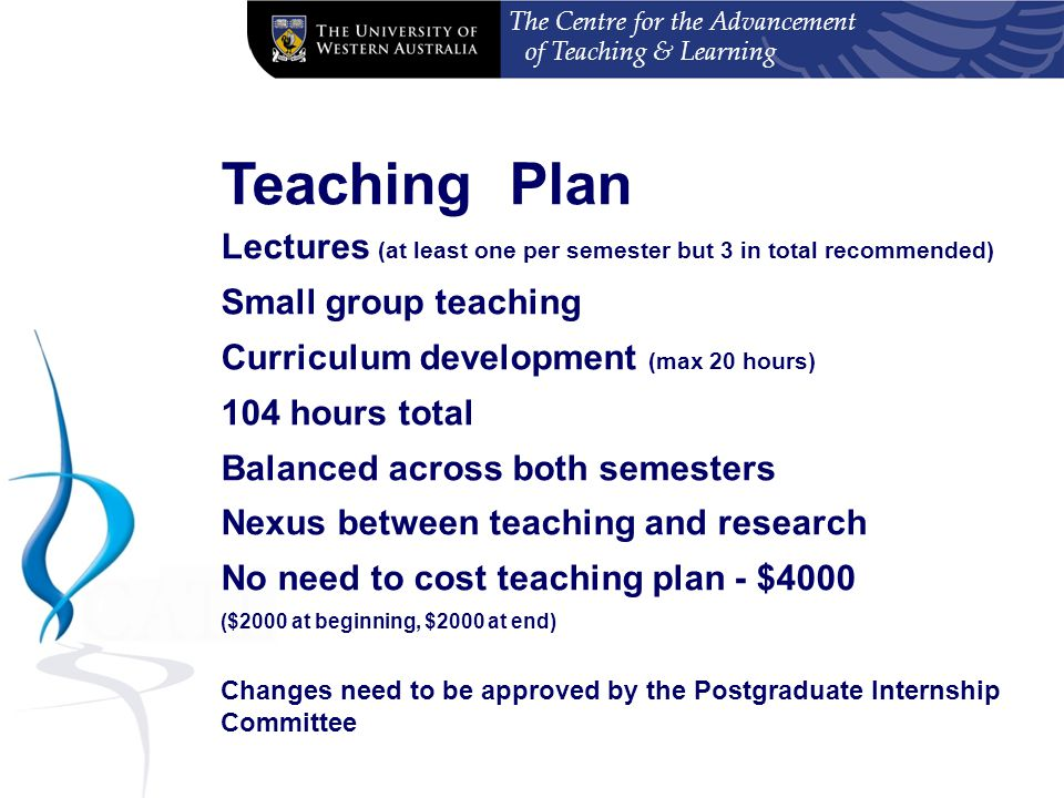 The Centre for the Advancement of Teaching & Learning Questions?