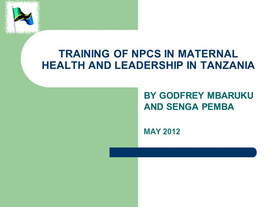 BACKGROUND With a physician to population ratio of close to 1:25,000 and further challenged by 80- 90% of medical doctors practicing in urban areas the majority of the Tanzania population has no access to care by a physician However, there is potential of using the existing mid-level cadres in the system to provide essential services if their skills can be upgraded through targeted short courses or long courses
