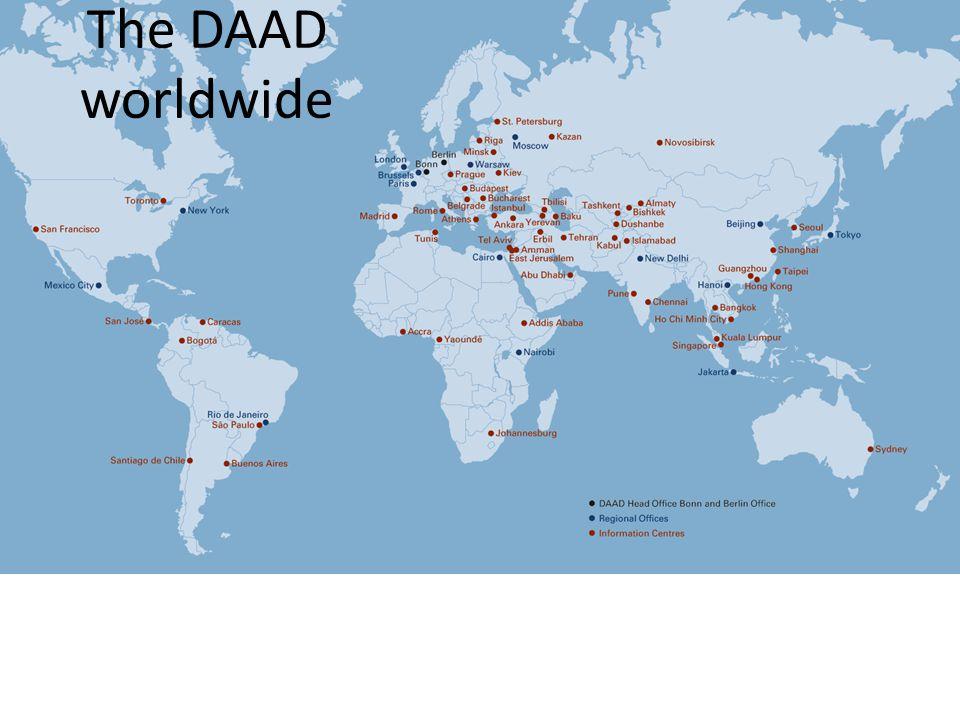 The DAAD worldwide