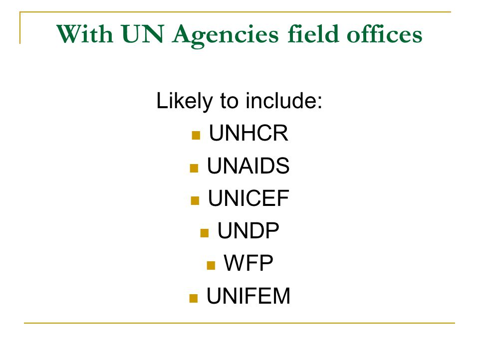 Placement characteristics Irish priority activities  e.g.