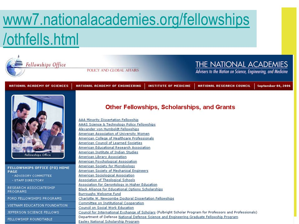 www7.nationalacademies.org/fellowships /othfells.html