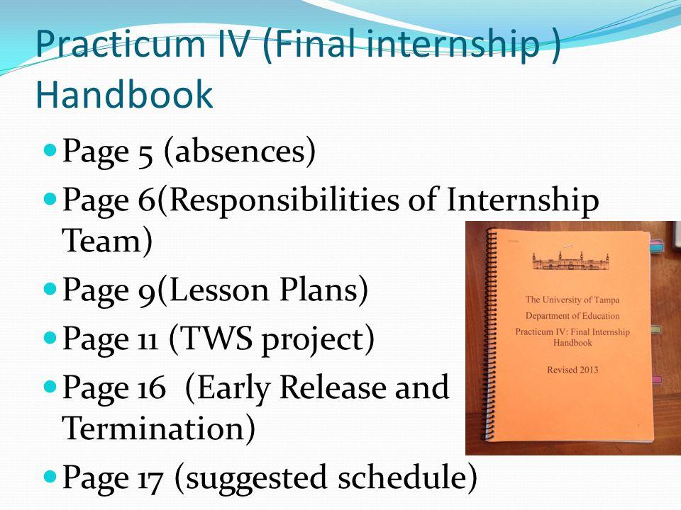 Evaluation Forms (C.T.