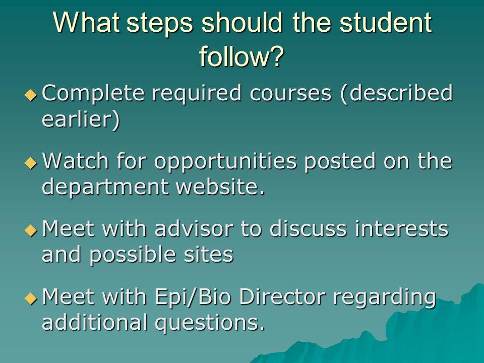 Who is the MPH internship course director . William Lambert, PhD.