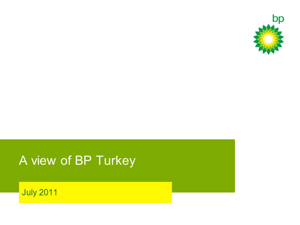A view of BP Turkey July 2011