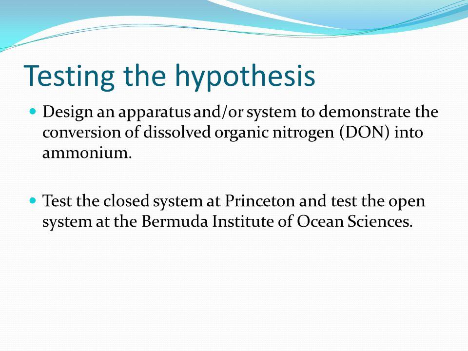 Acknowledgements Princeton Environmental Institute Bermuda Institute of Ocean Sciences Andrew Peters Karen Ellis Amy Gobel Rosie Zhang