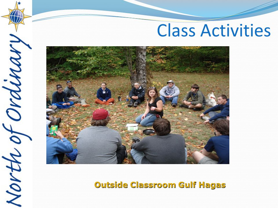 Class Activities Outside Classroom Gulf Hagas
