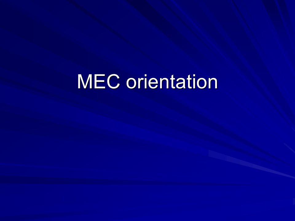 MEC orientation