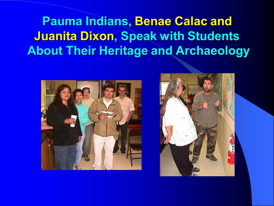 Community Outreach I With Native Americans  Special Relationship w/ Pauma & Pala IR  American Indian Studies Courses Required for Certificates & A.A.