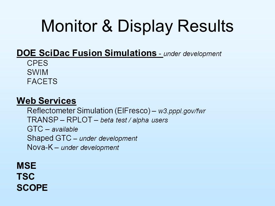 Summer '07 Improvements to visualizing 2-D data sets.