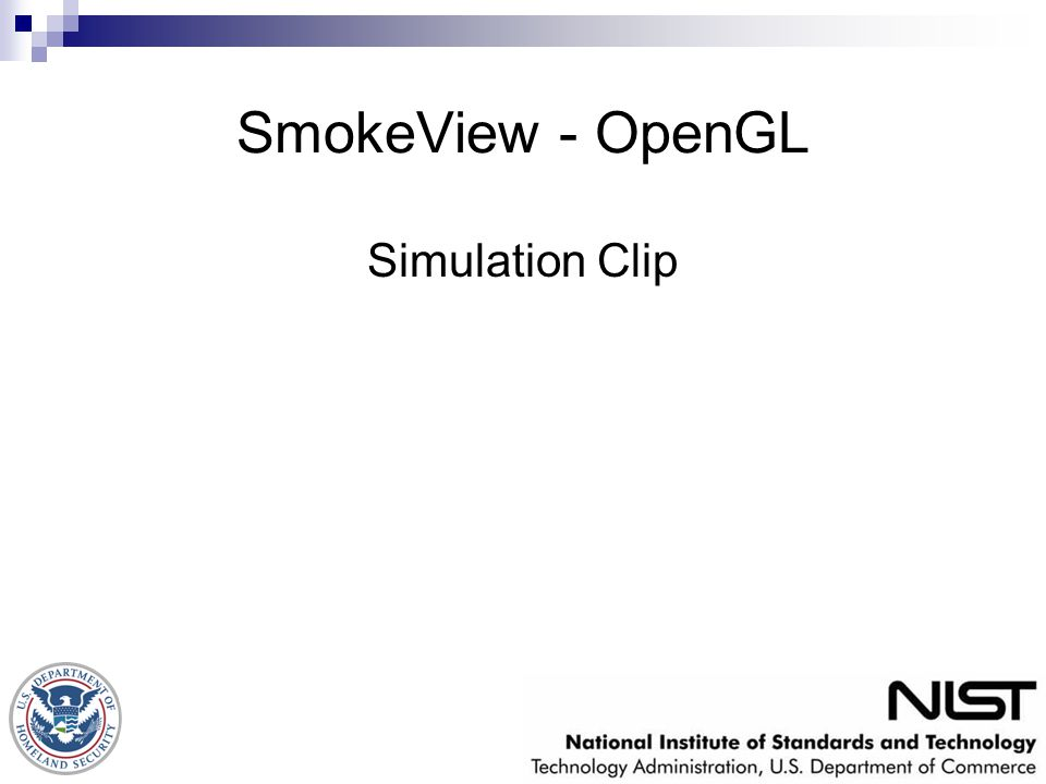 SmokeView - OpenGL Simulation Clip