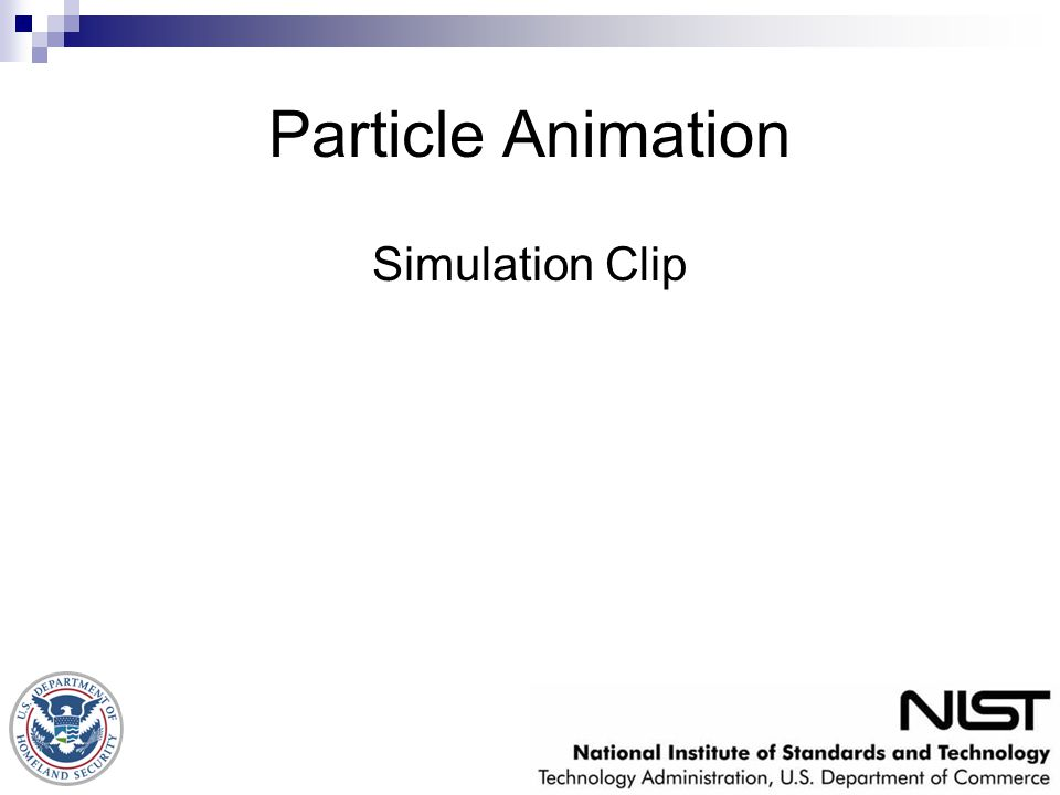 Particle Animation Simulation Clip