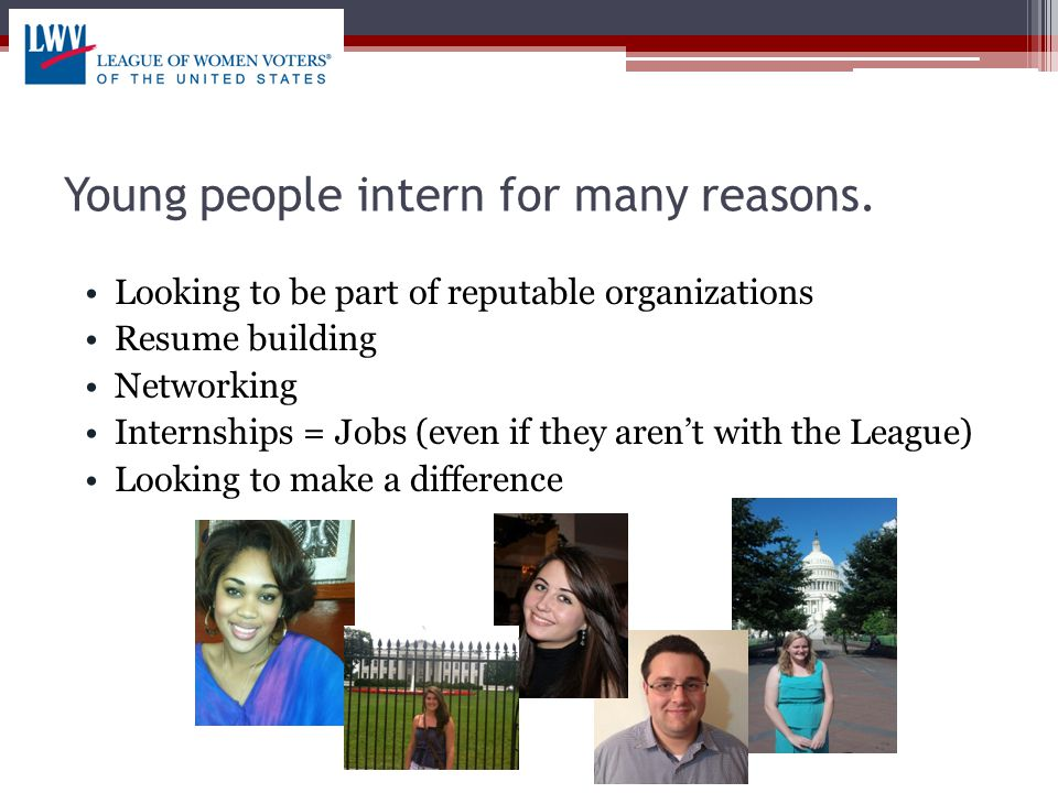 Course Requirements Most internships for course credit require: Paperwork- specific details of the internship Check-ins- proof that requirements are met Reviews- final review of the intern/experience