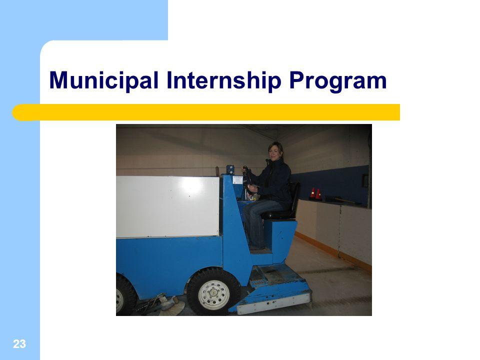 23 Municipal Internship Program
