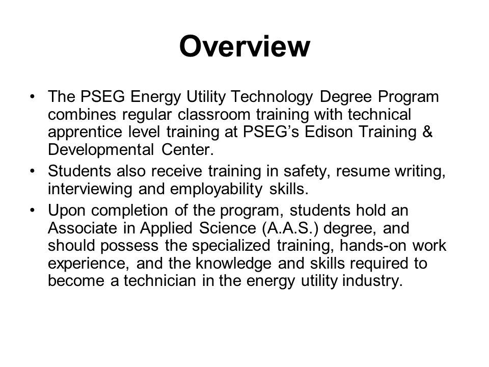 FAQ: Classes 4.Can I participate in the EUT program if I have another job.