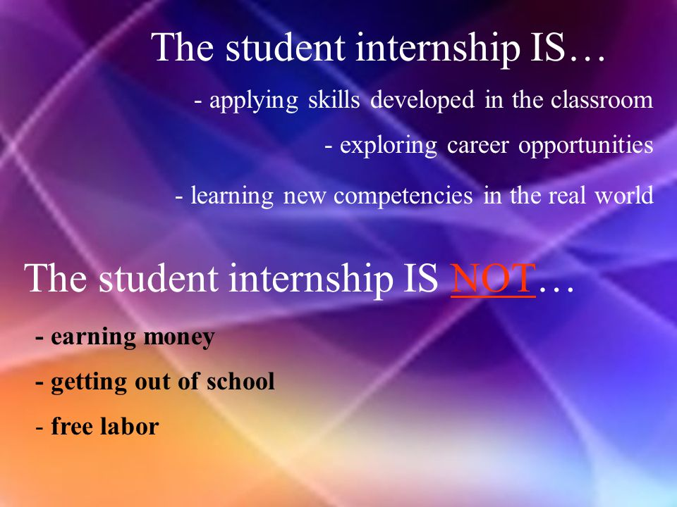 Advantages for Merrillville Schools  Broadens curriculum utilizing community resources  Meets needs of changing society  Fosters differences in interests & abilities of students  Establishes positive relationship with community  Provides interaction with professionals outside school who are mentors to our young adults  Promotes assessment towards realistic career goals