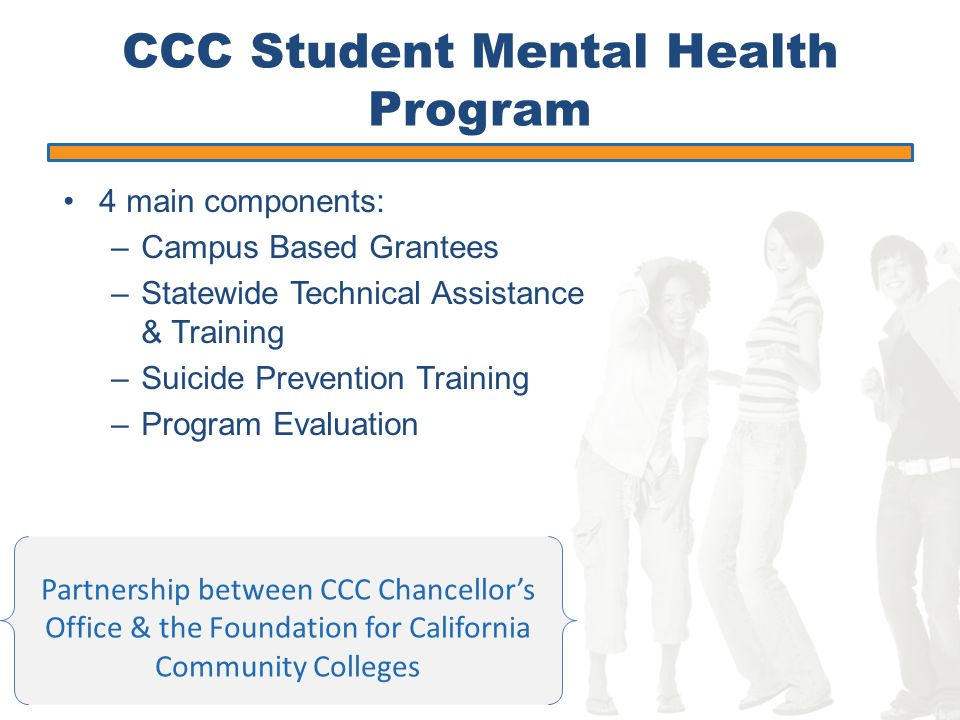 Increase capacity to address the mental health prevention and early intervention needs of students.