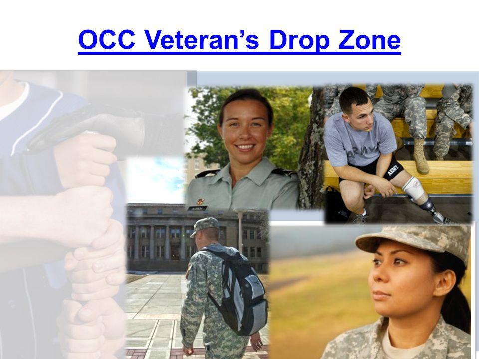 25 OCC Veteran's Drop Zone