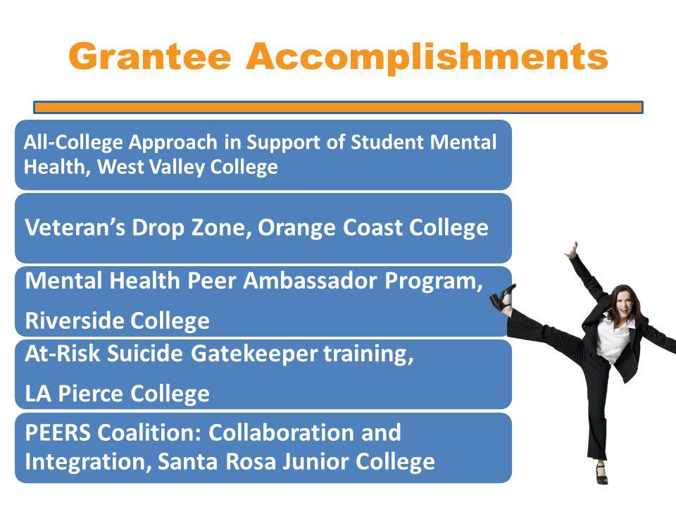 Grantee Accomplishments