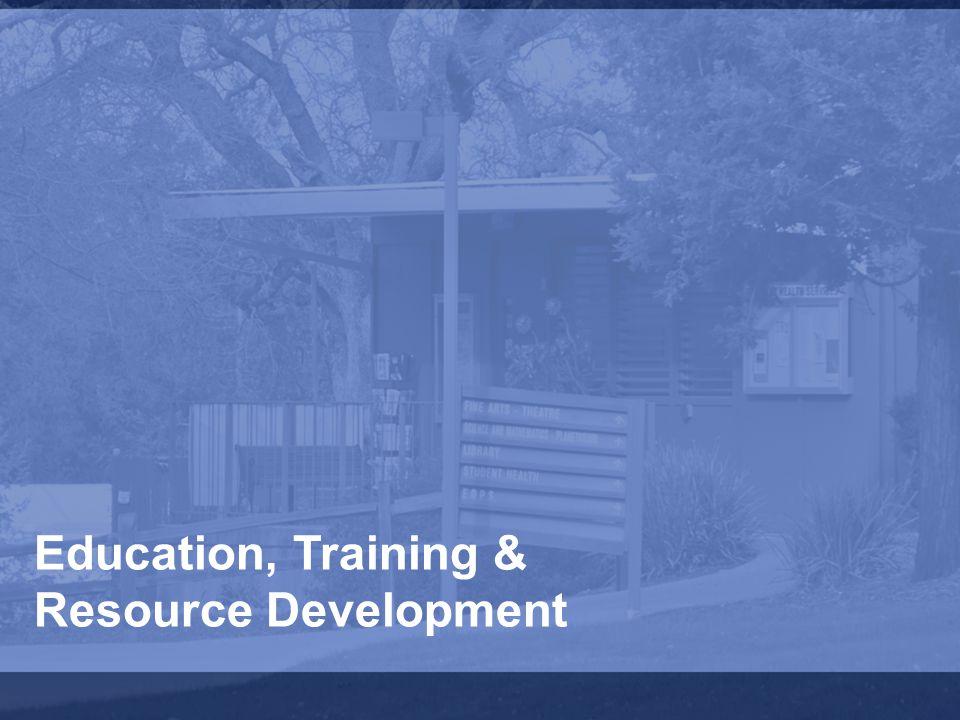 Education, Training & Resource Development