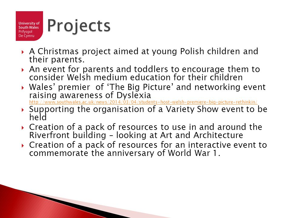  A Christmas project aimed at young Polish children and their parents.
