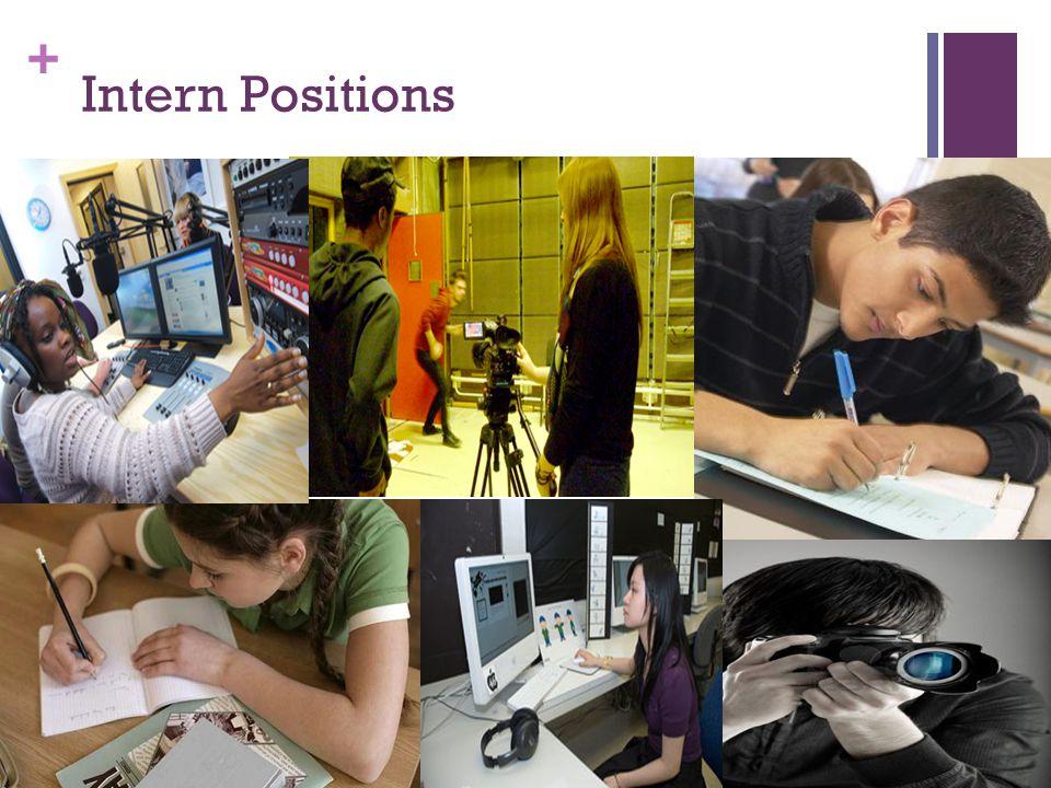 + Intern Positions