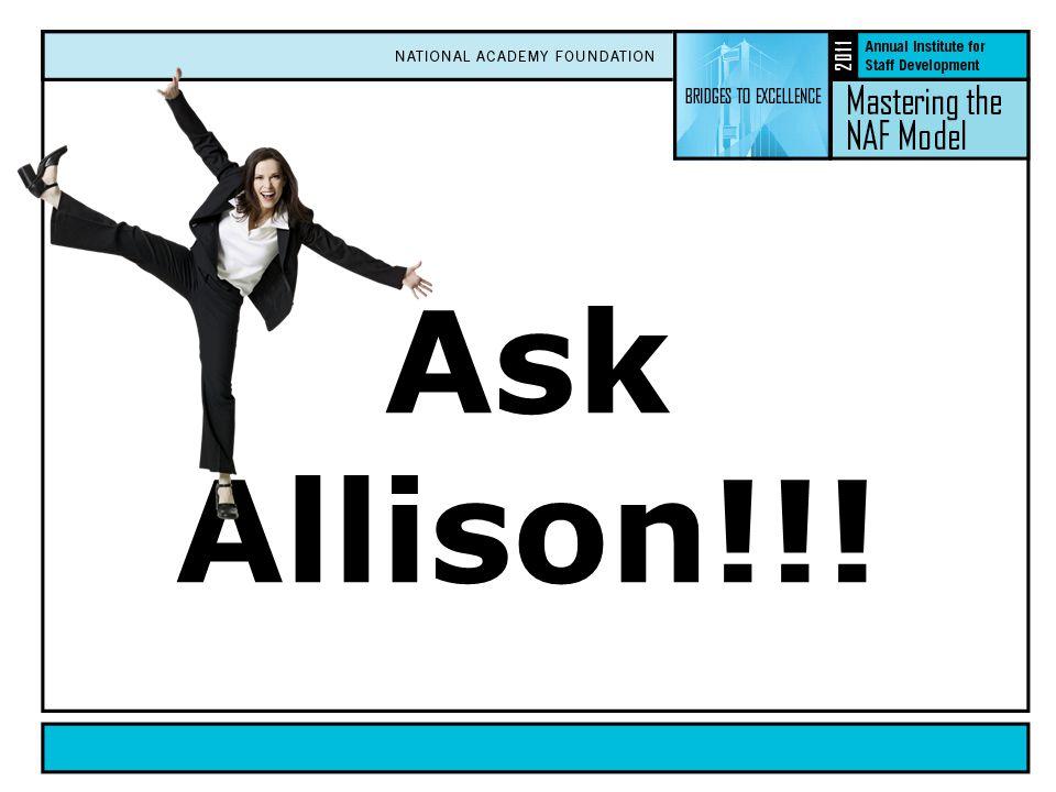 Ask Allison!!!