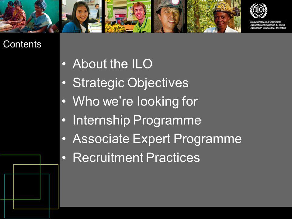 Recruitment Practices at ILO