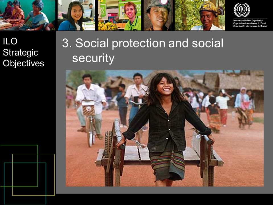 ILO Strategic Objectives 4. Social dialogue and tripartism