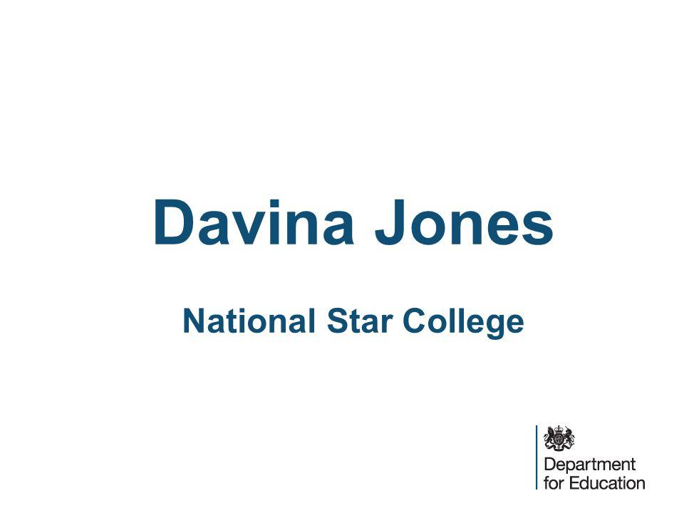 Davina Jones National Star College