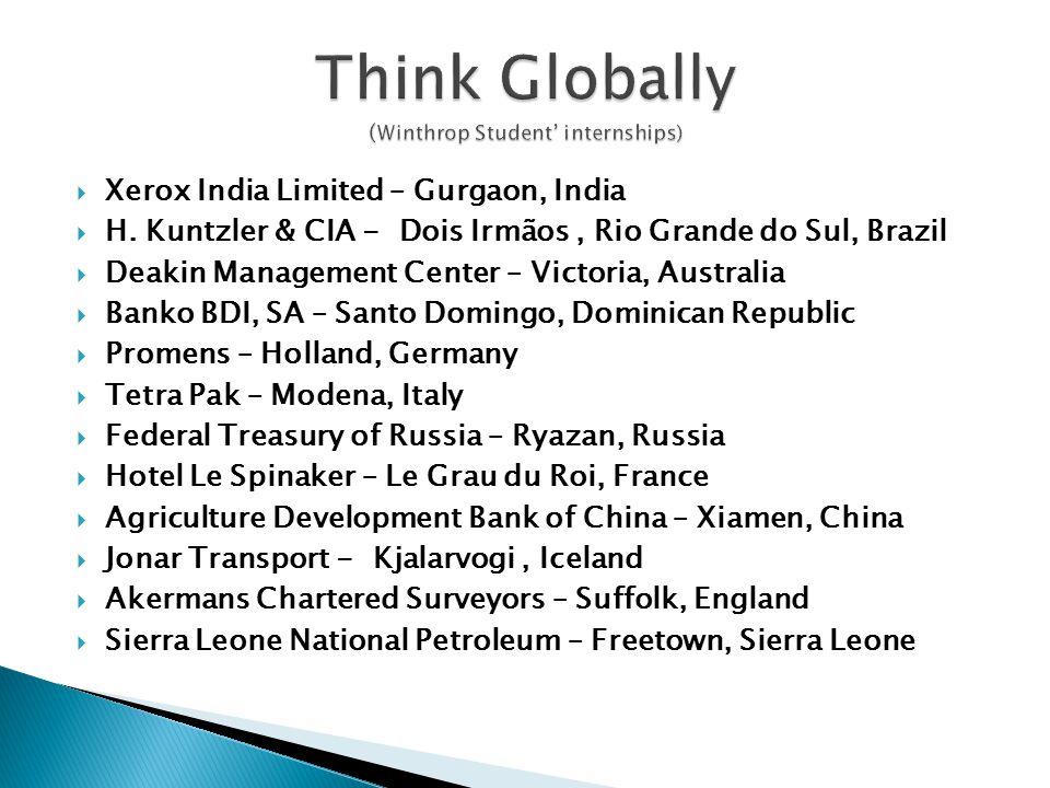  Xerox India Limited – Gurgaon, India  H.