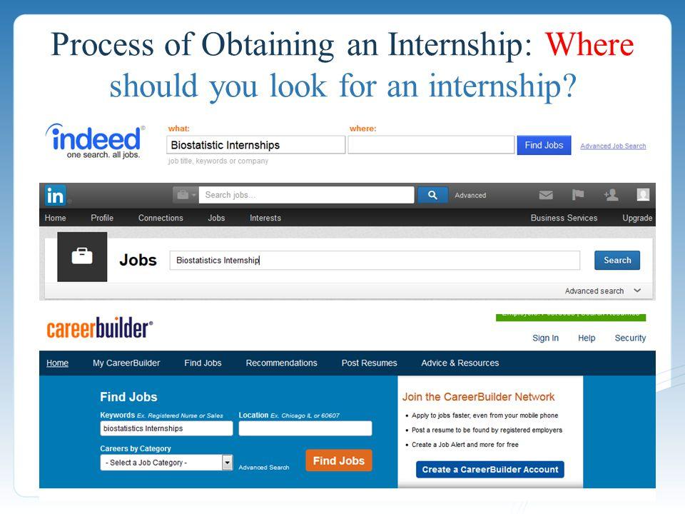 Process of Obtaining an Internship: Where should you look for an internship?