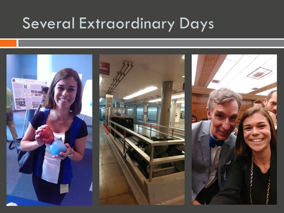 Several Extraordinary Days