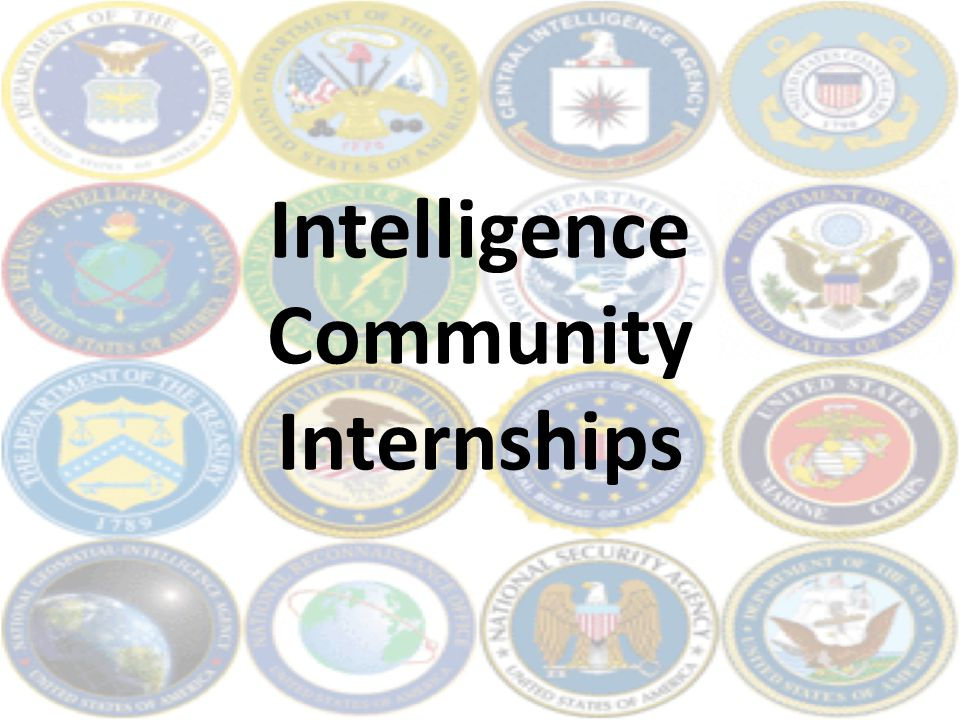 Intelligence Community Internships